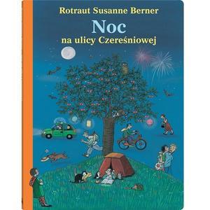 Rotraut Susanne Berner, Noc na ulicy Czereśniowej  marki Wydawnictwo Dwie Siostry - zdjęcie nr 1 - Bangla