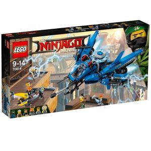 The Ninjago Movie, Odrzutowiec Błyskawica (70614) marki Lego - zdjęcie nr 1 - Bangla