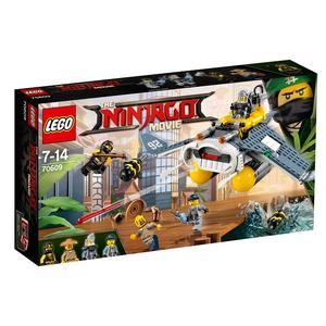 The Ninjago Movie, Bombowiec Manta Ray (70609) marki Lego - zdjęcie nr 1 - Bangla