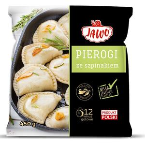 Pierogi ze szpinakiem, danie mrożone marki Jawo - zdjęcie nr 1 - Bangla