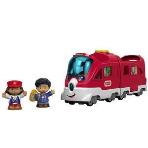 Fisher Price, Little People, Pociąg Małego Odkrywcy marki Mattel - zdjęcie nr 1 - Bangla