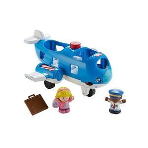 Fisher Price, Little People, Samolot Małego Odkrywcy marki Mattel - zdjęcie nr 1 - Bangla