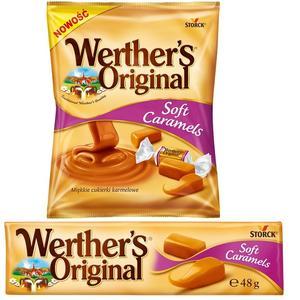 Werther's Original Soft Caramels, Miękkie cukierki karmelowe marki Storck - zdjęcie nr 1 - Bangla