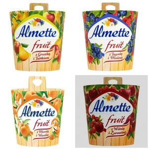 Almette Fruit, Puszysty serek twarogowy - różne smaki marki Hochland - zdjęcie nr 1 - Bangla