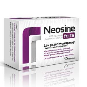 Neosine Forte, Lek o działaniu przeciwwirusowym i wzmacniającym odporność - tabletki marki Aflofarm - zdjęcie nr 1 - Bangla