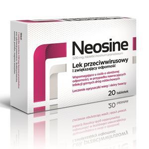 Neosine, lek przeciwwirusowy i wzmacniający odporność - tabletki marki Aflofarm - zdjęcie nr 1 - Bangla