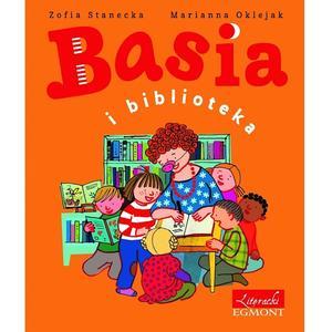 Zofia Stanecka, Basia i bibloteka marki Wydawnictwo Egmont - zdjęcie nr 1 - Bangla
