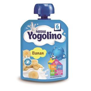 Yogolino, Deserek mleczno-owocowy Banan marki Kaszki Nestlé - zdjęcie nr 1 - Bangla