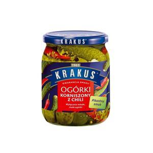 Krakus, ogórki korniszony z chili marki Grupa Maspex Wadowice - zdjęcie nr 1 - Bangla