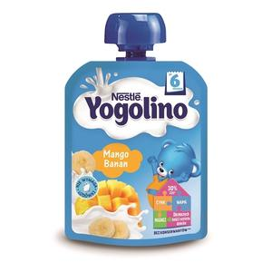 Yogolino, Deserek mleczno-owocowy Mango Banan marki Kaszki Nestlé - zdjęcie nr 1 - Bangla