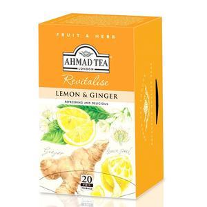 Lemon & Ginger, Napar owocowo-ziołowy (imbir i cytryna) marki Ahmad Tea - zdjęcie nr 1 - Bangla