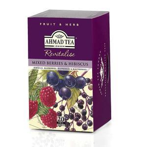Mixed Berries & Hibiscus, Napar owocowo-ziołowy marki Ahmad Tea - zdjęcie nr 1 - Bangla