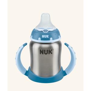 NUK First Choice, butelka ze stali nierdzewnej z podwójnym uchwytem marki Nuk - zdjęcie nr 1 - Bangla