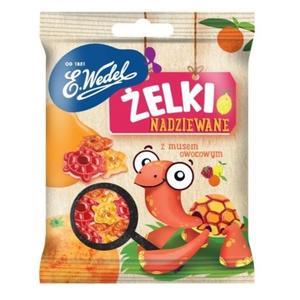 Żelki nadziewane z musem owocowym marki Wedel - zdjęcie nr 1 - Bangla