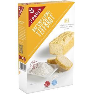 Gotowa mieszanka do pieczenia chleba bezglutenowego z teff marki 3 PAULY - zdjęcie nr 1 - Bangla