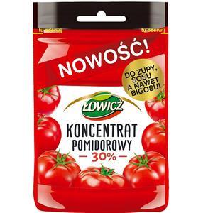 Koncentrat pomidorowy 30%, w saszetce marki Łowicz - zdjęcie nr 1 - Bangla
