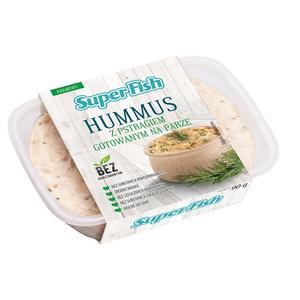 SuperFish, Hummus z pstrągiem gotowanym na parze marki Graal - zdjęcie nr 1 - Bangla