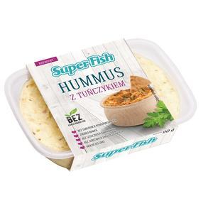SuperFish, Hummus z tuńczykiem marki Graal - zdjęcie nr 1 - Bangla