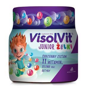 Żelki, suplement diety dla dzieci marki Visolvit - zdjęcie nr 1 - Bangla