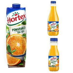 Pomarańcza sok 100% marki Hortex - zdjęcie nr 1 - Bangla