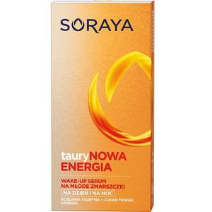 tauryNowa Energia, Wake-up serum na młode zmarszczki marki Soraya - zdjęcie nr 1 - Bangla