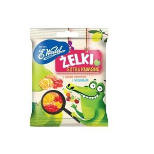 Wedel, żelki ekstra kwaśne z sokiem owocowym i witaminami marki E. Wedel - zdjęcie nr 1 - Bangla