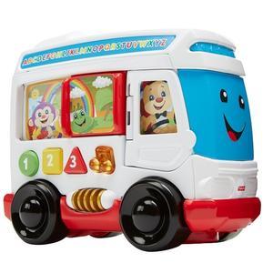 Fisher Price Ucz się i śmiej, Autobus szczeniaczka (FHF11) marki Mattel - zdjęcie nr 1 - Bangla