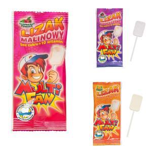 Multifan, Lizaki witaminowe - różne smaki marki NN Pharmaceuticals - zdjęcie nr 1 - Bangla