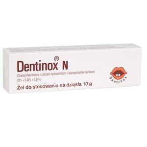 Dentinox N, Żel do stosowania na dziąsła marki Miralex Sp. z o.o. - zdjęcie nr 1 - Bangla