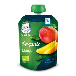 Gerber Organic, Mango - owocowy deserek dla niemowląt marki Dania gotowe Gerber - zdjęcie nr 1 - Bangla