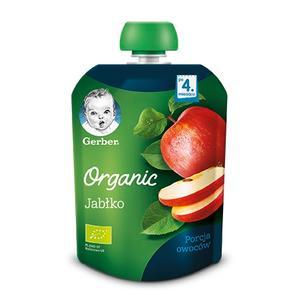 Gerber Organic, Jabłko - owocowy deser dla niemowląt marki Gerber - zdjęcie nr 1 - Bangla