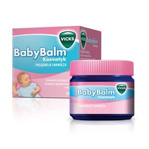 Vicks BabyBalm, maść, 50g marki Vicks - zdjęcie nr 1 - Bangla