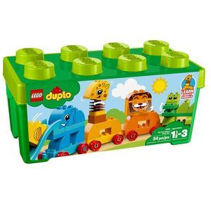 Lego Duplo, Pociąg ze zwierzątkami (10863) marki Lego - zdjęcie nr 1 - Bangla