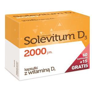 Solevitum D3, suplement diety w witaminą D3 marki Aflofarm - zdjęcie nr 1 - Bangla