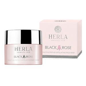 Herla Black Rose, Multiodżywcza maska eksfoliująca do twarzy marki Herla - zdjęcie nr 1 - Bangla