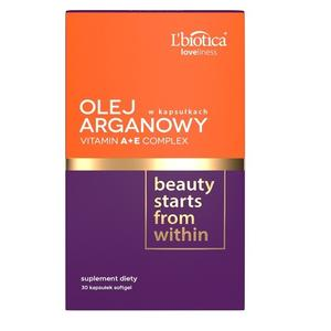 Loveliness, Olej Arganowy & Vitamin A+E marki L'biotica - zdjęcie nr 1 - Bangla