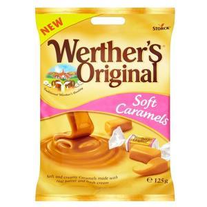 Werther's Original Soft Caramels, cukierki karmelowe marki Storck - zdjęcie nr 1 - Bangla