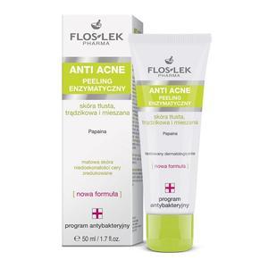Anti Acne, Peeling enzymatyczny marki FlosLek - zdjęcie nr 1 - Bangla