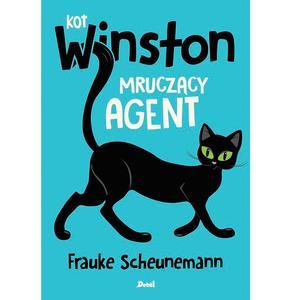 Frauke Scheunemann, Kot Winston. Mruczący agent marki Wydawnictwo Debit - zdjęcie nr 1 - Bangla