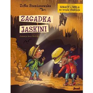 Zofia Staniszewska, Ignacy i Mela na tropie złodzieja. Zagadka jaskini marki Wydawnictwo Debit - zdjęcie nr 1 - Bangla
