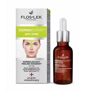 Dermo Expert, Anti Acne, Normalizujący peeling kwasowy na noc marki FlosLek - zdjęcie nr 1 - Bangla