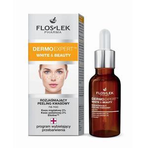Dermo Expert, White & Beauty, Rozjaśniający peeling kwasowy na noc marki FlosLek - zdjęcie nr 1 - Bangla