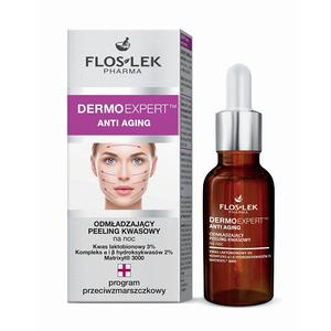 Dermo Expert, Anti Aging, Odmładzający peeling kwasowy na noc marki FlosLek - zdjęcie nr 1 - Bangla