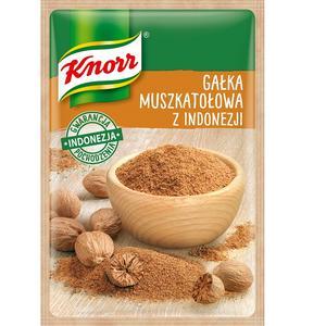 Gałka muszkatołowa z Indonezji, przyprawa jednorodna Knorr marki Knorr - zdjęcie nr 1 - Bangla