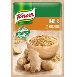 Imbir z Nigerii, przyprawa jednorodna Knorr marki Knorr - zdjęcie nr 1 - Bangla