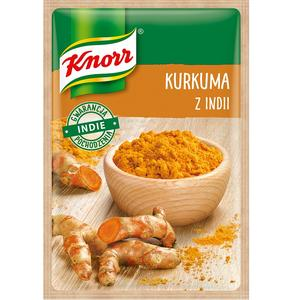 Kurkuma z Indii, przyprawa jednorodna Knorr marki Knorr - zdjęcie nr 1 - Bangla