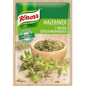 Majeranek z krajów śródziemnomorskich, przyprawa jednorodna Knorr marki Knorr - zdjęcie nr 1 - Bangla