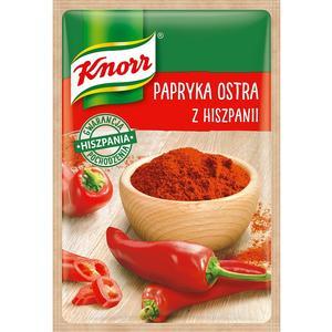 Papryka ostra z Hiszpanii, przyprawa jednorodna Knorr marki Knorr - zdjęcie nr 1 - Bangla