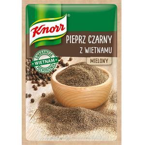 Pieprz czarny z Wietnamu, przyprawa jednorodna Knorr marki Knorr - zdjęcie nr 1 - Bangla