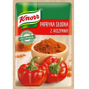 Papryka słodka z Hiszpanii, przyprawa jednorodna Knorr marki Knorr - zdjęcie nr 1 - Bangla